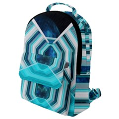 Space Ship Sci Fi Fantasy Science Flap Pocket Backpack (small) by Bejoart