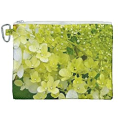 Elegant Chartreuse Green Limelight Hydrangea Macro Canvas Cosmetic Bag (xxl) by myrubiogarden