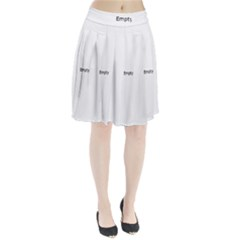 All Monsters Are Human Pleated Skirt