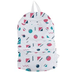 Round Triangle Geometric Pattern Foldable Lightweight Backpack