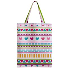 Geometry Line Shape Pattern Classic Tote Bag