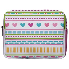 Geometry Line Shape Pattern Make Up Pouch (large)