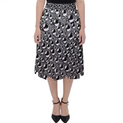 Water Bubble Photo Classic Midi Skirt