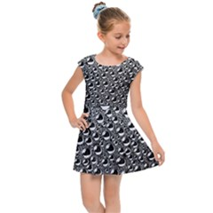 Water Bubble Photo Kids Cap Sleeve Dress by Mariart