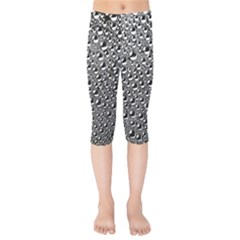 Water Bubble Photo Kids  Capri Leggings
