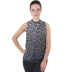Water Bubble Photo Sleeveless Top