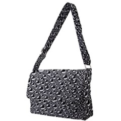 Water Bubble Photo Full Print Messenger Bag