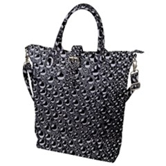 Water Bubble Photo Buckle Top Tote Bag