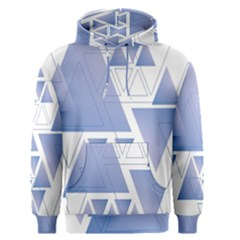 Triangle Geometry Men s Pullover Hoodie
