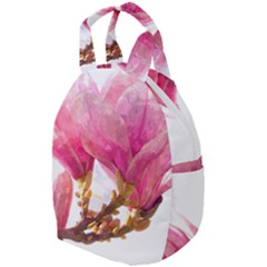 Wild Magnolia Flower, Watercolor Art Travel Backpacks by picsaspassion