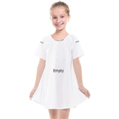 Razor Blade Pattern Kids  Smock Dress