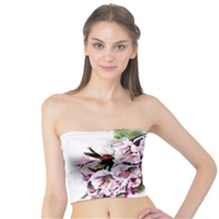 Watercolour Cherry Blossoms Tube Top