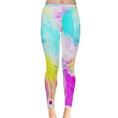 Background Drips Fluid Colorful Inside Out Leggings