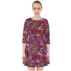 Painting Abstract Painting Art Smock Dress