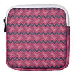 Background Pattern Structure Mini Square Pouch