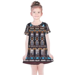 Catherine S Palace St Petersburg Kids  Simple Cotton Dress