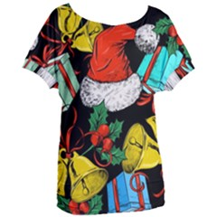 Christmas Gifts Gift Red Winter Women s Oversized Tee