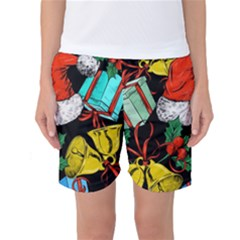 Christmas Gifts Gift Red Winter Women s Basketball Shorts