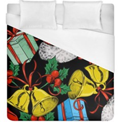 Christmas Gifts Gift Red Winter Duvet Cover (king Size)