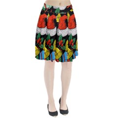 Christmas Gifts Gift Red Winter Pleated Skirt