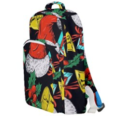 Christmas Gifts Gift Red Winter Double Compartment Backpack by Bejoart