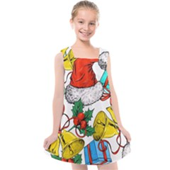 Christmas Gifts Gift Red December Kids  Cross Back Dress