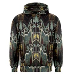 Modern Industrial Abstract Rust Pattern Men s Pullover Hoodie by CrypticFragmentsDesign