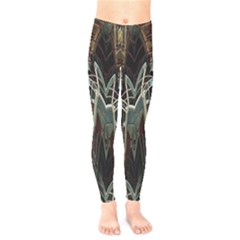 Modern Industrial Abstract Rust Pattern Kids  Legging by CrypticFragmentsDesign