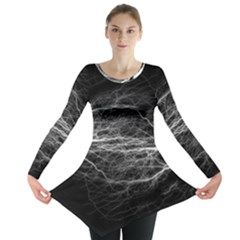 Flash Electricity Energy Current Long Sleeve Tunic