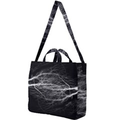 Flash Electricity Energy Current Square Shoulder Tote Bag
