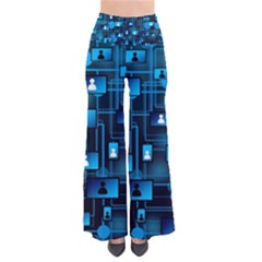 Smartphone System Web News So Vintage Palazzo Pants by Bejoart