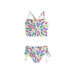 Integration Inclusion Hands Help Girls  Tankini Swimsuit by Bejoart