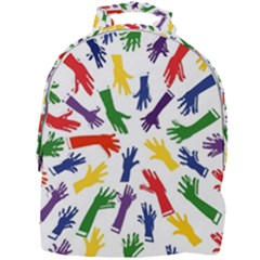 Integration Inclusion Hands Help Mini Full Print Backpack