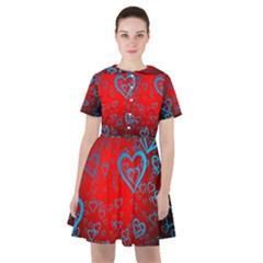 Heart Light Course Love Sailor Dress