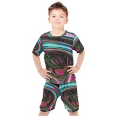 Streak Colorful Iridescent Color Kid s Set
