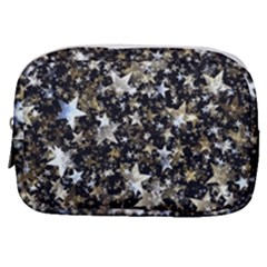 Background Star Christmas Advent Make Up Pouch (small)