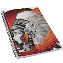 Art Girl Woman Photoshop Graphics 5 5  X 8 5  Notebook New by Bejoart