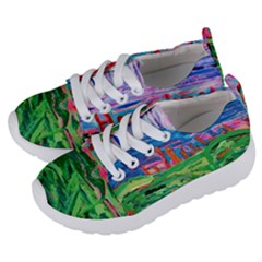 Our Town My Town Kids  Lightweight Sports Shoes by arwwearableart