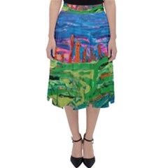 Our Town My Town Classic Midi Skirt