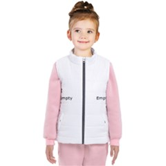 Paint On A White Background                                                        Kid s Puffer Vest
