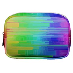 Colors Rainbow Chakras Style Make Up Pouch (small)