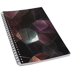 Crystals Background Design Luxury 5 5  X 8 5  Notebook New by Bejoart