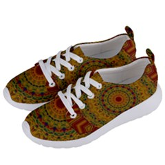 India Mystic Background Ornamental Women s Lightweight Sports Shoes by Bejoart