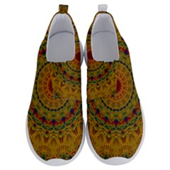 India Mystic Background Ornamental No Lace Lightweight Shoes