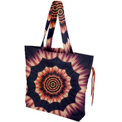 Digital Art  Artwork Abstract Drawstring Tote Bag by Bejoart