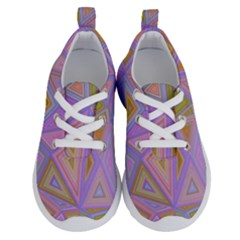Triangle Digital Polygonal Poly Running Shoes