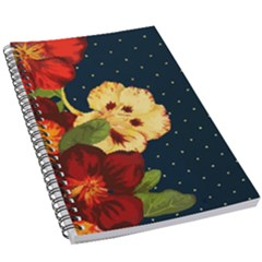 Flowers Vintage Floral 5 5  X 8 5  Notebook New by Wegoenart