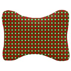 Lumberjack Plaid Buffalo Plaid Velour Seat Head Rest Cushion