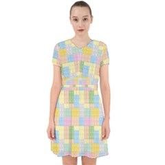 Lego Background Adorable In Chiffon Dress by Wegoenart