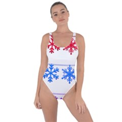 Christmas Snowflake Bring Sexy Back Swimsuit